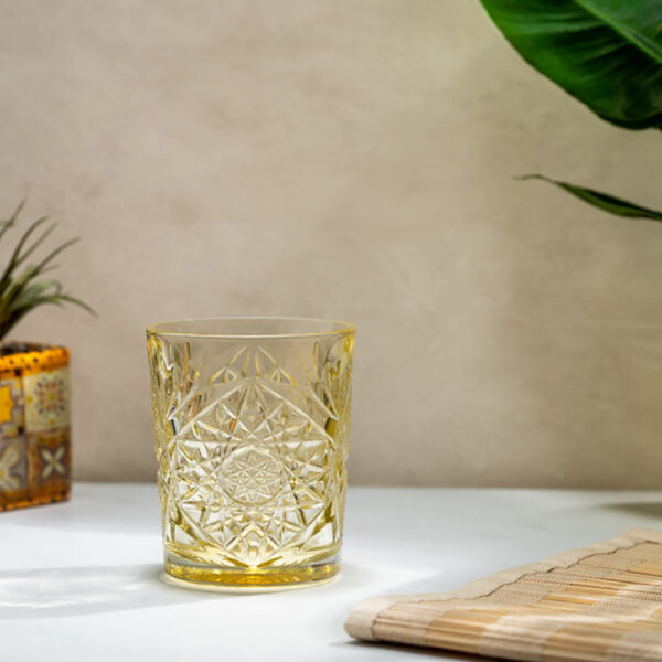 Libbey-Hobstar-old-fashioned-juomalasi-35cl-Pale-Yellow