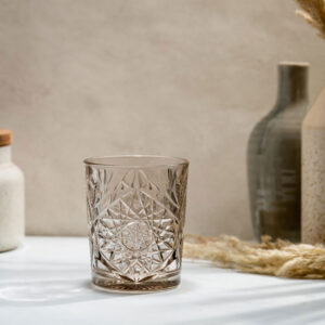 Libbey-Hobstar-old-fashioned-juomalasi-35cl-taupe