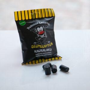 Skafferi Porvoon Kauralakritsi gluteiiniton 100g